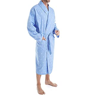 59104d2b58 Polo Ralph Lauren Mens Long Sleeve Fleece Kimono Robe at Amazon ...