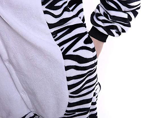 Costume Halloween Abyed® Pigiama Attrezzatura Cosplay Zebra Kigurumi Anime wqPxPX4I