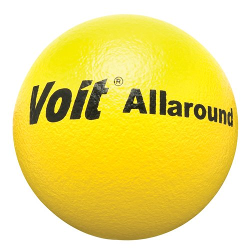 Voit Coated Play Ball, Yellow, 7″