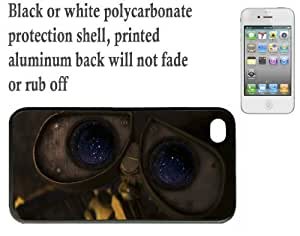 iPhone 4 4S Printed Hard Case With Aluninium Insert Walle
