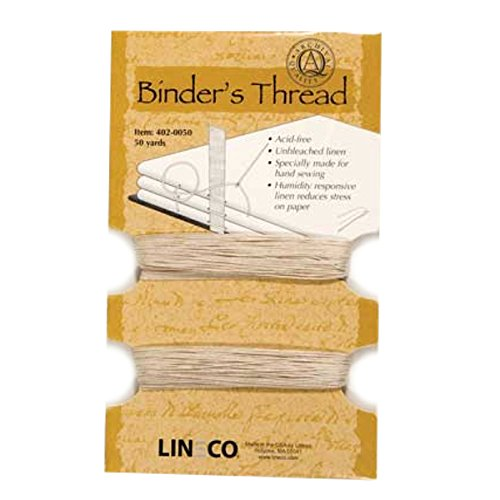 Lineco Binding Thread 50 yd., Beige