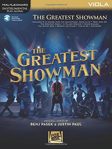 The Greatest Showman: Instrumental Play-Along Series for Viola (Hal Leonard Instrumental Play-Along)