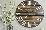 30'' Large Wood Wall Clock