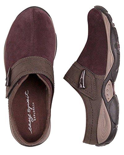 Easy Spirit Womens Eliana Slip-On Shoe, Vine/Chestnut, 10 C/D US by Easy Spirit