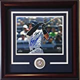 Tyler Austin Autographed Signed 8x10 Framed Photo Yankees Rookie 1St MLB At Bat Hr Steiner