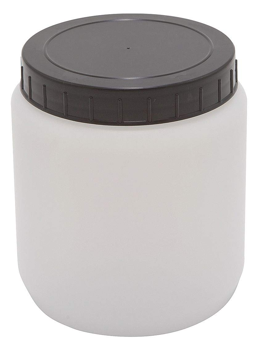 Dynalon 1,500mL/51 oz Jar, Wide Mouth, High Density Polyethylene, PK 10 - 226415-1500