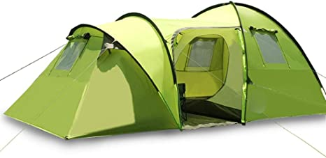 Tienda de campaña Doble Resistente al Viento, Resistente al Agua, para 3 – 4 Personas, Tienda de campaña, Tienda de campaña para montañismo, Tiendas de campaña: Amazon.es: Deportes y aire libre