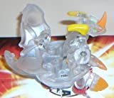 Bakugan Helix Dragonoid 700G CLEAR with DNA code {loose}