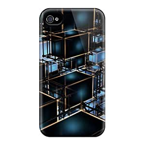 Fashion Protective Cubes Cases Covers For Iphone 6