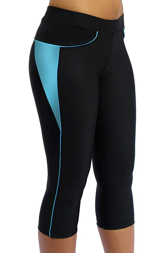 ScudoPro Capri Legging Knicker Padded Cycling Pant for Women 3//4 Scudo Sports Wear