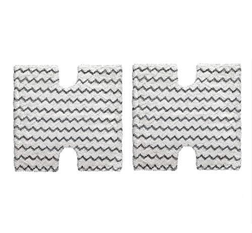 (2-Pack Replacement XTP184 Mop Pads for Shark Lift-Away/Genius Steam Pocket Mop S3973 S3973D S5002 S5003 S6001 S6002 S6003)
