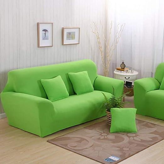 D&LE Color sólido Funda de sofá, Stretch Tela Protector para ...