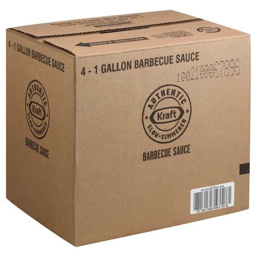 Kraft Original Barbecue Sauce 4 Case 1 Gallon