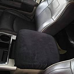 Center Console Armrest Soft Pad Protector Cover for 1993-2016 Dodge Ram 1500 2500 3500 4500 5500 Pickup Trucks