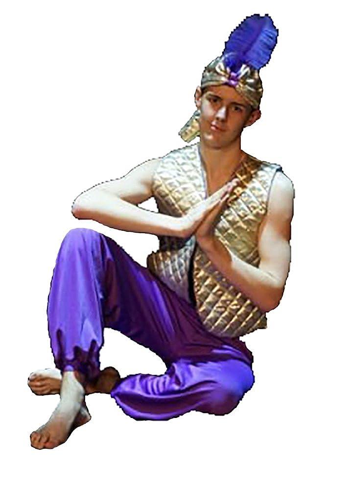GOLD WAISTBAND All Sizes Aladdin-Panto-Sultan-Pirate-Dance GENIE//HAREM PANTS