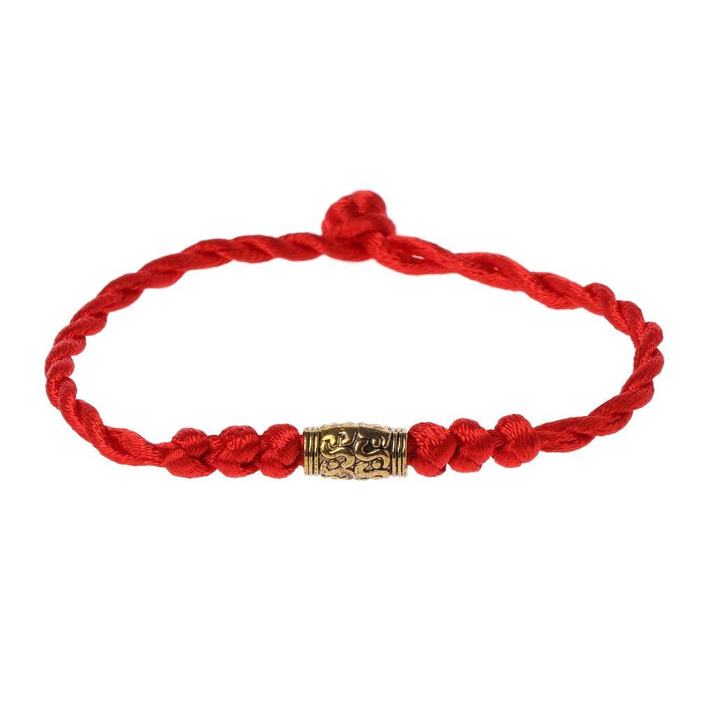 Tibetan Bracelet Handmade Chinese Feng Shui Lucky Kabbalah Red String Bracelets Jewelry