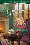 Threads of Deceit (Vineyard Quilt Mysteries Book 1)