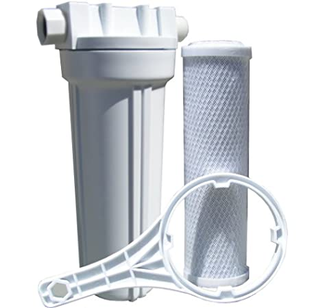 Watts Premier 520022 RV//Boat Duo Exterior Water Filter with Garden Hose Fittings