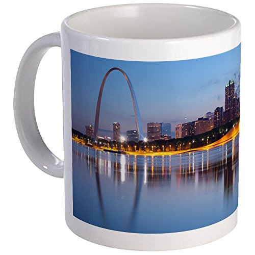 - CafePress - City Of St. Louis Skyline. Mug - Unique Coffee Mug, Coffee Cup