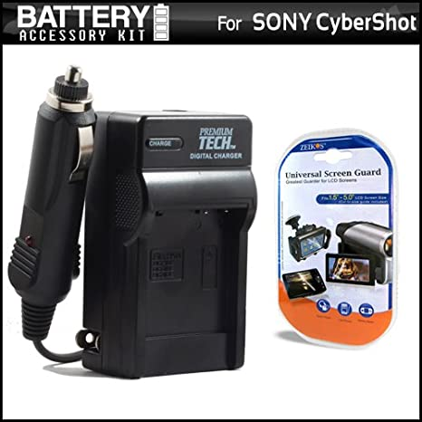 Replacement Charger For Sony NP-BK1 BK-1 Equivalent to OEM BC-CSK / BC-CSKA  Replacement 1 Hour Battery Charger For The CyberShot DSC-S750 DSC-S780