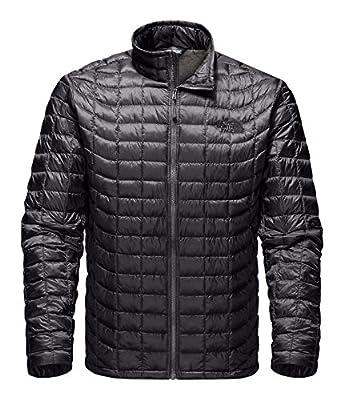 The North Face Thermoball Full Zip Jacket - Men's (Medium, Asphalt Grey/Fusebox Grey Process Prin)
