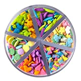 Wilton Flowerful Sprinkles Medley, 2.4 oz. - Candy Sprinkles
