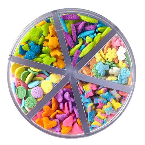 Wilton Flowerful Sprinkles Medley, 2.4 oz. - Candy ()