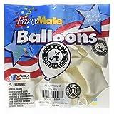 "Pioneer Balloon Company 10 Count University of Alabama Latex Balloon, 11"", Multicolor"