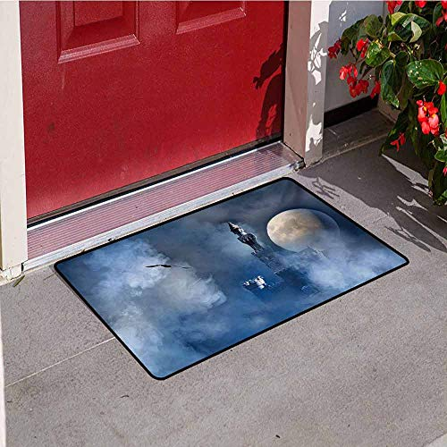 Jinguizi Fantasy Universal Door mat Castle on Clouds