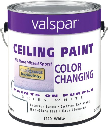 Valspar 1420 Color Changing Latex Ceiling Paint
