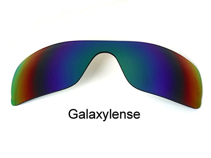 Galaxy Lentes De Repuesto Para Oakley Batwolf Verde Color Polarizados 100% UVAB - Verde,