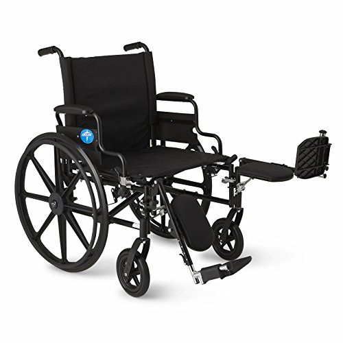 Medline-Premium-Ultra-lightweight-Wheelchair-with-Flip-Back-Desk-Arms-and-Elevating-Leg-Rests-for-Extra-Comfort-Black-22-x-18-Seat