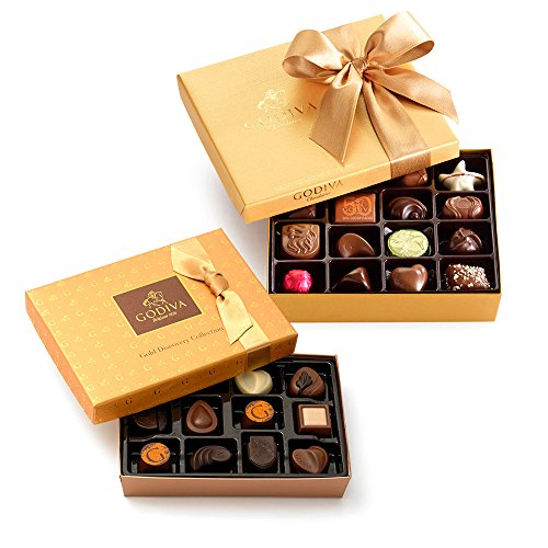 Godiva Chocolatier Gold Discovery & Classics Chocolate Gift Set, Holiday Gift Set, Gourment Chocolates