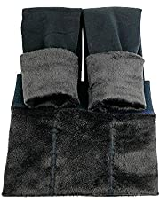 La Dearchuu Winter Leggings Women Warm Thick Fleece Lined Thermal Stretchy Leggings Women