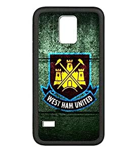 Stylish Samsung S5 Mini Case West Ham United F.C. Football Team Logo Scratch Proof Cover Skin For Samsung Galaxy S5 Mini Sports Football Image For Fans Special Style