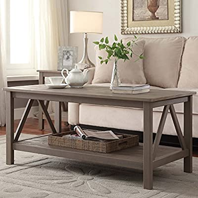 Linon Home Titian Coffee Table
