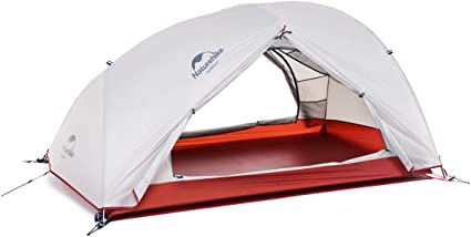Naturehike Star-River Tenda Ultraleggera 2 Persone 4 Stagioni Tessuto in Silicone 20D Doppi Strati