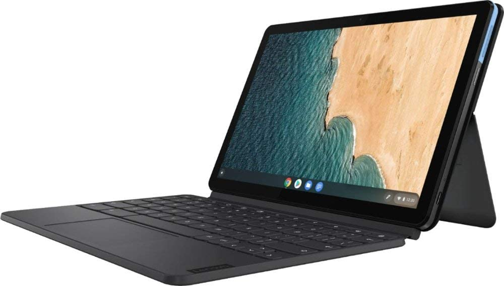 2020 Newest Lenovo Chromebook Duet 2 in 1 Tablet, 10 1