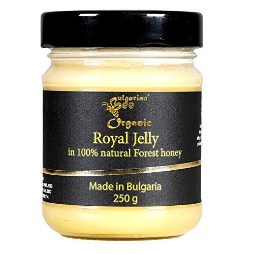 500 g Roher Wald Honig enthält Gelee Royal 1.5%, Bienenwachs, ungefiltert, nicht geschleudert oder erhitzt