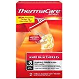 ThermaCare HeatWraps, Knee Pain Therapy, Up to 8 Hours of Pain Relief 2 ea