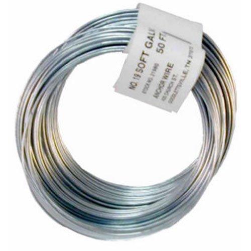 HILLMAN FASTENERS 123177 Series 50'18GA Galv Wire Coil, ()