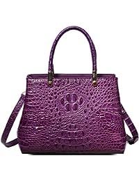 Crocodile Leather Handbag for Women Top handle Satchel Handbag Designer Purse