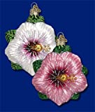 Old World Christmas Hibiscus Ornament Assorted Colors (One Piece)