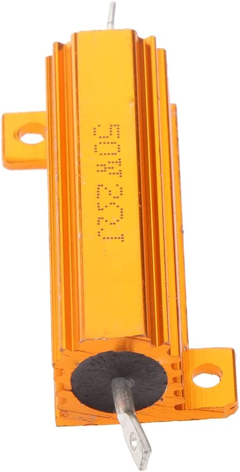 Shiwaki High Precision 50W 1 Ohm 2 Ohm 10 Ohm Aluminum Case Resistor 4 Ohm