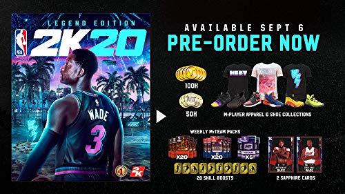 51bL%2B0CJBIL - NBA 2K20 Legend Edition - Xbox One