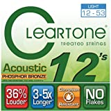 Cleartone Acoustic.012-.053 Light Strings Review and Comparison