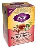 Yogi Tea Perfct Enrgy Raspbrry 16 Bag