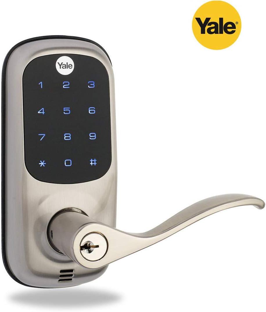Yale Smart - Cerradura de puerta para llave de vida real, mando a ...
