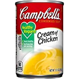 Campbell's Healthy Request Condensed Soup, Cream of Chicken, 10.5 Ounce (Pack of 24)