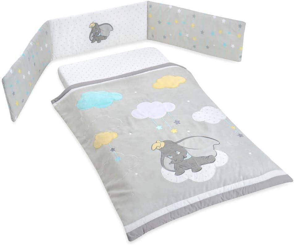 Juego de ropa de cama para cuna Dumbo de 3 piezas, juego de ropa ...
